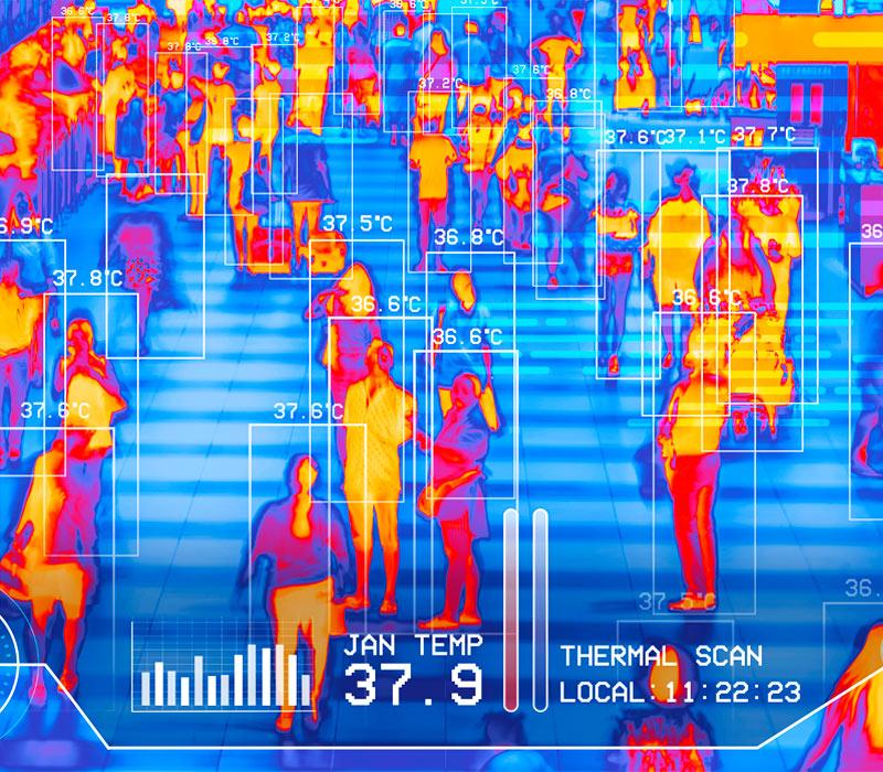 Vantagens da Câmara Termográfica